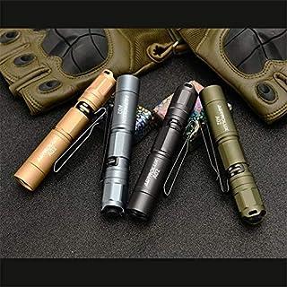 Astrolux A02 SST20 High CRI 378LM Mini LED Keychain Light Lightweight AAA/10440 EDC Flashlight Clip Penlight Torch Lantern...