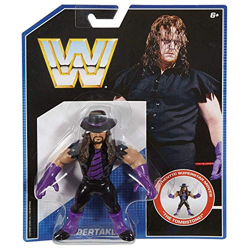 WWE Undertaker Action Figure retrò