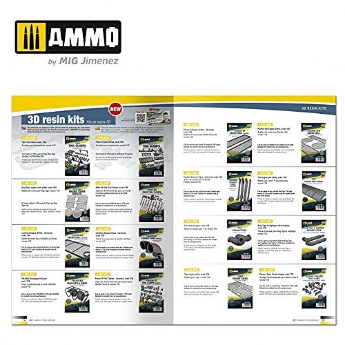 『アモ AMMO カタログ 2021年 プラモデルカタログ AMO-8300』のトップ画像