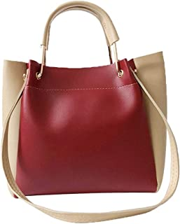 Wultia - Shoulder Bag Handbags Big Women Bag Casual Female Bags Trunk Tote Shoulder Bag Daily Shopping torebka Damska RED