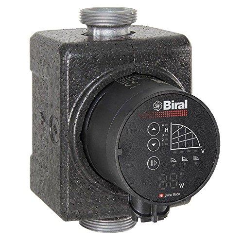 Biral HE-Umwälzpumpe PrimAX 25-4 130 RED G 1 1/2 230V inkl. Wärmedämmschale