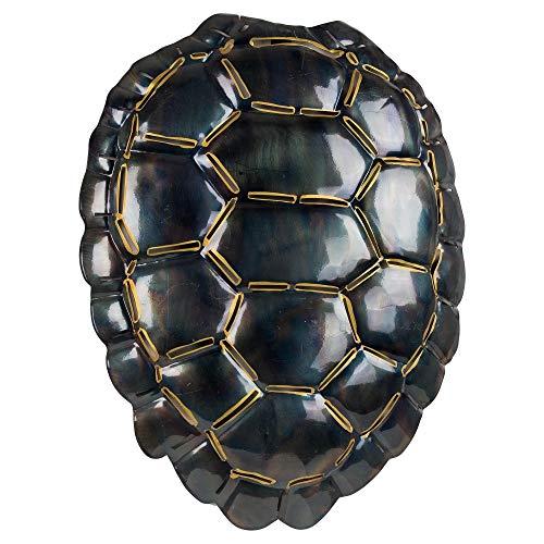 Crystal Art Gallery American Art Decor Medium Turtle Shell Metal Art Wall Sculpture