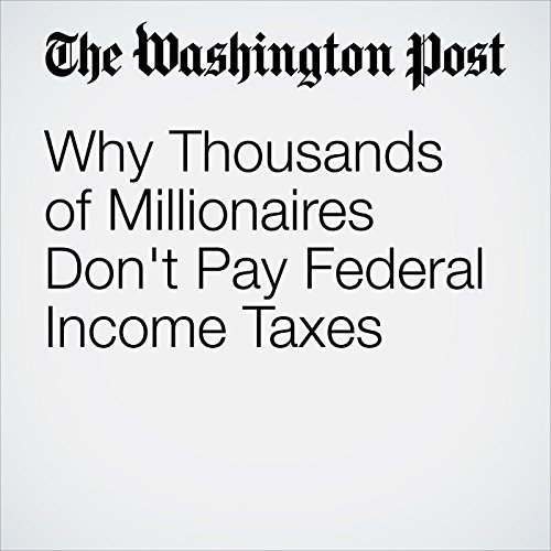 Why Thousands of Millionaires Don't Pay Federal Income Taxes audiobook cover art
