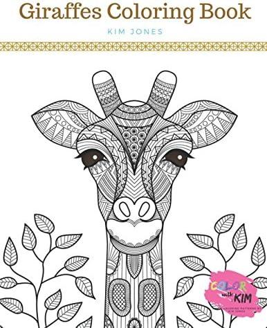 GIRAFFES A Giraffe Coloring Book product image