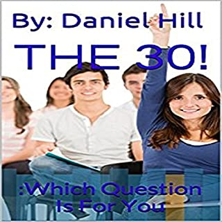 The 30 audiobook cover art
