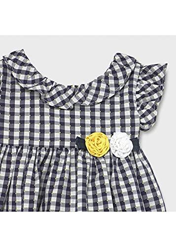 Mayoral Vestido Vichi Bebe Niña 12-36 Meses Marino (24 meses)