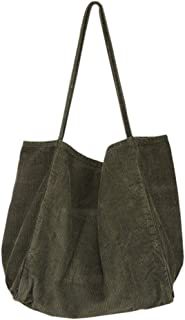 TENDYCOCO 6 Sacchetti Shopping Riutilizzabili Oxford Tote Bag Shopper Borsa Borsa per Shopping Allaperto Donna