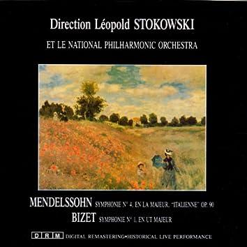 Felix Mendelssohn & Georges Bizet