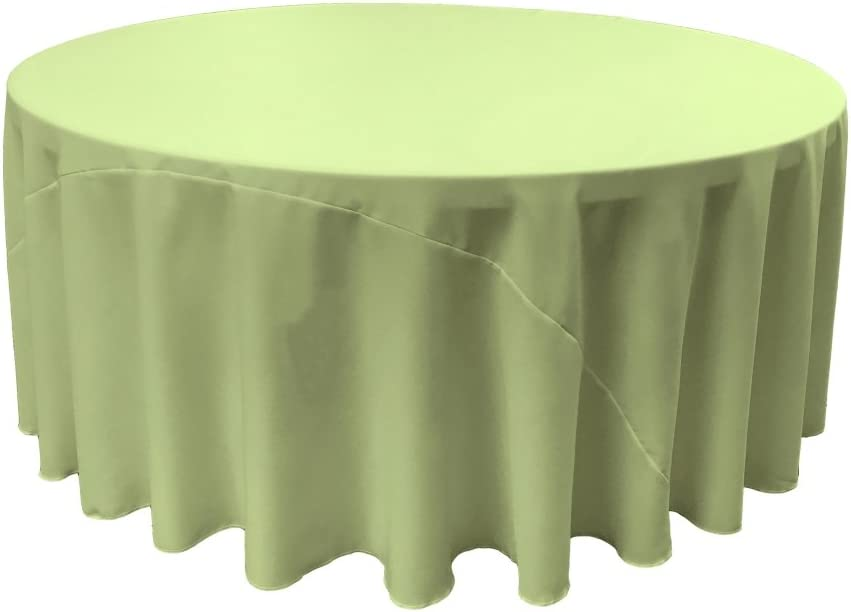 FunFlags Outlet ☆ Free Shipping Max 65% OFF TCpop108R-SageP19 Polyester Poplin - Sage Tablecloth44;