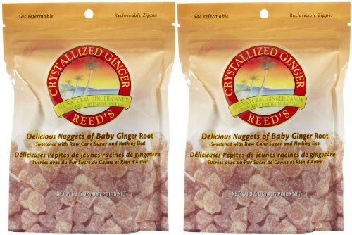 Reed's Crystallized Ginger Candy - 3.5 oz - 2 pk