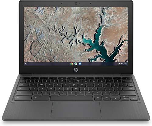 HP Chromebook Laptop, 11.6 Inch HD Scherm, Mediatek MT8183, 4GB RAM, 32GB eMMC, Chrome OS, 11a-na0200nd, Grijs