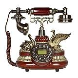 Vobajf Teléfonos analógicos Teléfono Antiguo Europeo Hogar Teléfono Fijo...