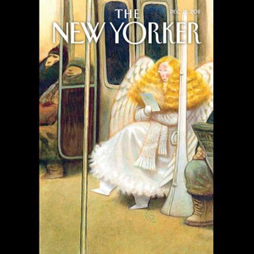 The New Yorker, December 12th 2011 (Michael Specter, Kelefa Sanneh, Anthony Lane) cover art