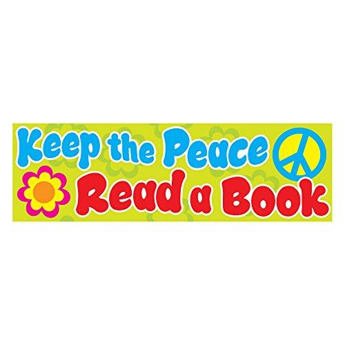 TREND ENTERPRISES, INC. Keep The Peace Bookmarks, 36 ct