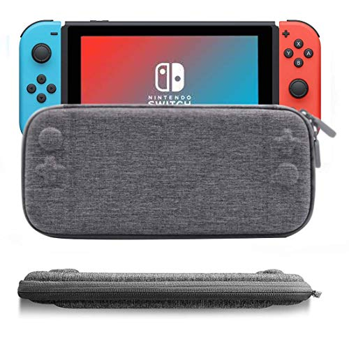 IFORU Funda para Nintendo Switch Estuche/Case Protector de Tela Oxford para Nintendo Switch (Ultra Delgado)