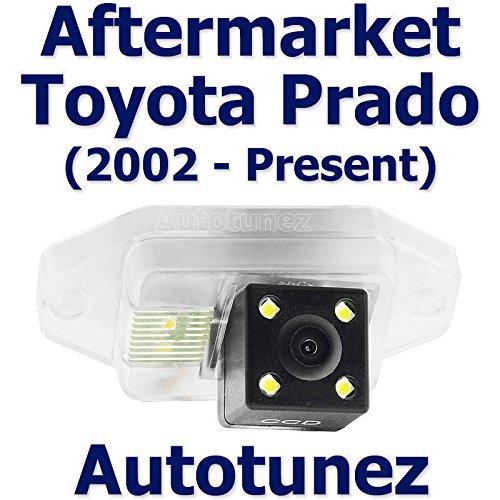 Caméra de recul TUNEZ® Vue arrière arrière Compatible avec Landcruiser Prado 120150 série année 2002-2020