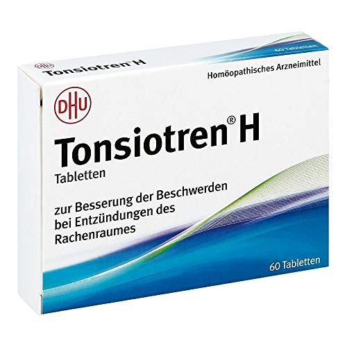 Tonsiotren H, 60 St. Tabletten