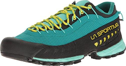 La Sportiva TX3 Women's Approach Shoe, Emerald/Mint, 40