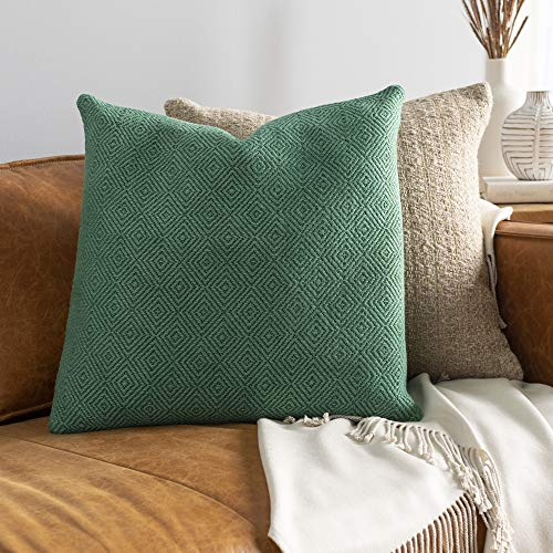 Artistic Weavers Jareth 20' x 20' Pillow Cover, 20'H x 20'W, Emerald
