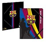 Chemise plastifiée 3 rabats - Collection officielle FC BARCELONE - Rentrée scolaire BARCA Barcelona - 24 x 32 cm