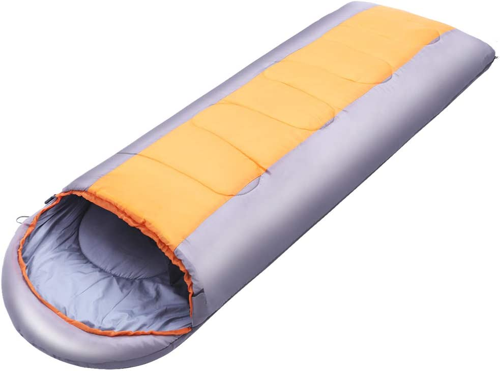 thematys Comfortable sleeping bag with cotton inner lining festivals and fishing mummy sleeping bag perfect for camping 3