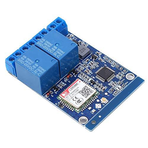 LAJS Interruptor de Control Remoto SMS, Controlador SMS Resistente al Desgaste Práctico establo para Invernadero para Sala de servidores para riego de Tierras de Cultivo para alimentación de