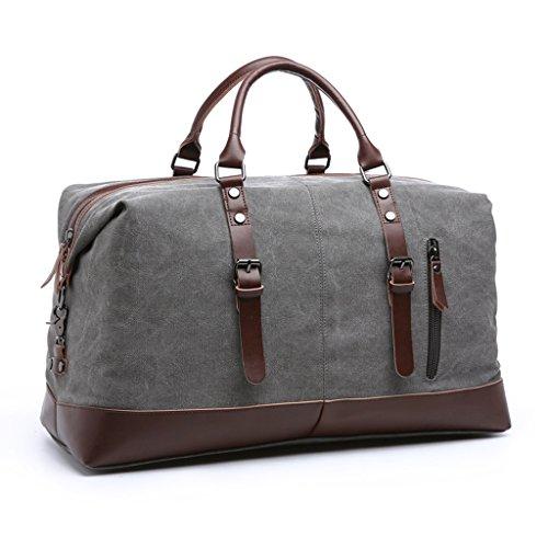 Borsone Canvas - Borsa da viaggio per borsa da viaggio Borsa da viaggio per borsa da viaggio per uomo e donna