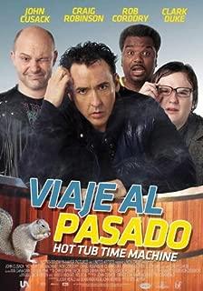 Hot Tub Time Machine Movie Poster (27 x 40 Inches - 69cm x 102cm) (2010) Columbia -(John Cusack)(Clark Duke)(Craig Robinson)(Rob Corddry)(Sebastian Stan)(Lyndsy Fonseca)
