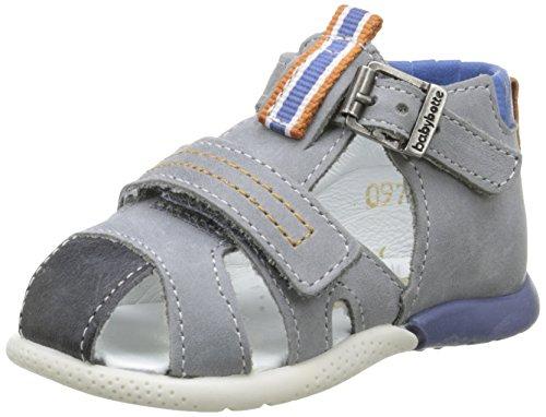 babybotte Georgie, Chaussures Marche bébé garçon, Gris (097 Gris), 18
