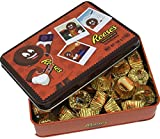 Reese's Valentines Day Chocolate Gift Box, With Reese's Peanut Butter Cups Miniatures in Gold Foil (7 Ounce)