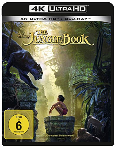 The Jungle Book (4K Ultra HD) (+ Blu-ray 2D)