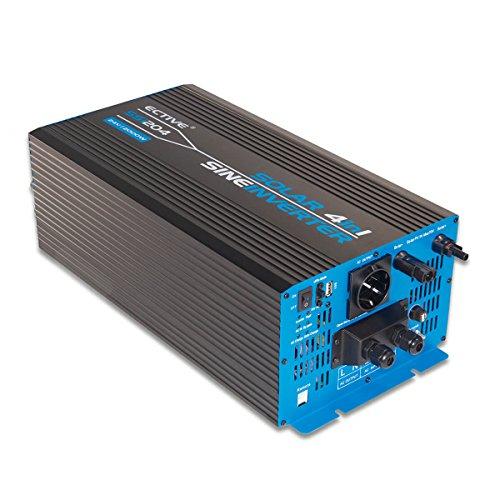 ECTIVE 2000W 24V zu 230V SSI-Serie reiner Sinus Wechselrichter mit Ladegerät MPPT-Solarladeregler und NVS in 5 Varianten: 1000W - 3000W