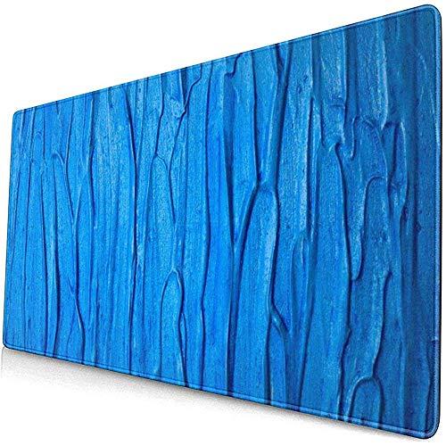 Textuur verf blauw oppervlak behang muismat muismat muismat anti-slip rubber duurzaam