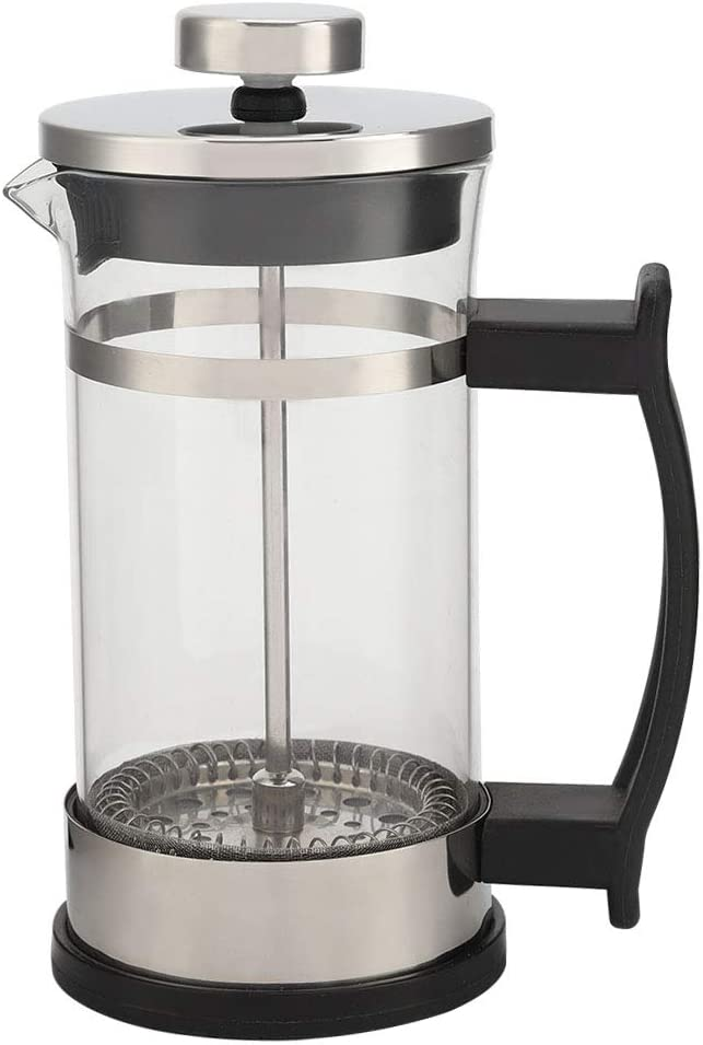 Double Stainless Steel Glass half Coffee Filter service Pot Press French