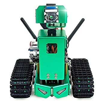 Yahboom AI Smart Robot for NVIDIA Jetson Nano Coding Robotics Kit for Adults with Autopilot Object Tracking Face & Color Recognition  Lift Version
