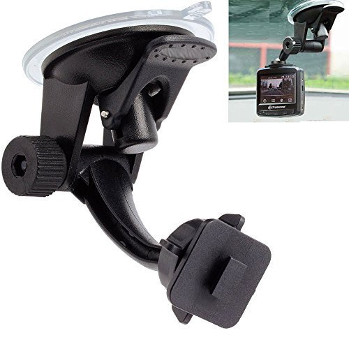 ChargerCity DashCam Stick-On Articulate Strong Suction Suction Mount...