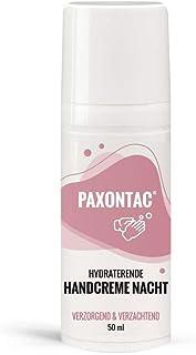 Paxontac moisturising handcrème 50 ml nacht - Droge handen - Natuurlijke ingrediënten (Ureum, Olijfolie, Bijenwas, Amandel...