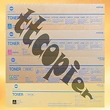 Konica Minolta Part# TN-615K. TN-615C. TN-615M. TN-615Y Toner Cartridge Set (OEM)