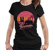 Cloud City 7 Black Mirror San Junipero Heaven Women's T-Shirt
