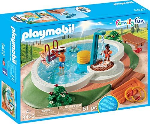 Playmobil  Family Fun Piscina con Accesorios