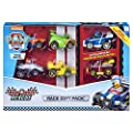 PAW PATROL- True Metal Ready Rescue Gift Pack of 6 Race Car Collectible Die-Cast Vehicles, 1:55 Scale Pack de 6 vehículos coleccionables a presión, Escala, Multicolor (Spin Master 6054522) de Spin Master
