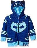 PJMASKS Little Boys' Toddler Catboy Hoodie, Blue, 3T