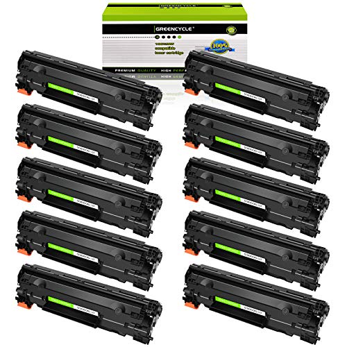 GREENCYCLE 10 Pack Replacement Compatible for Canon 137 C137 CRG137 Toner Cartridge for ImageClass MF212w ImageClass MF227dw Laser Printer