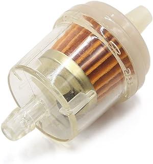 sourcing map 8mm Benzinfilter Kraftstofffilter Vorfilter, Gasöl Flüssigkeitsfilter Benzinfilter für PKW Auto Motorrad Benzin Gas Öl Brennöl Filter Reiniger de