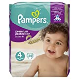 Pampers Active Fit 24 Couches Taille 4 (8-16 kg)