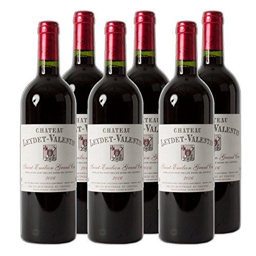 Château Leydet-Valentin - St. Emilion Grand Cru AC Rotwein Bordeaux Frankreich 2018 trocken (6x 0.75 l)