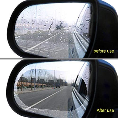 2 stuks auto achteruitkijkspiegel raam beschermfolie antifog regendicht film auto stickers voor auto achteruitkijkspiegel auto exterieur acces