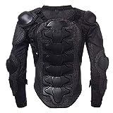 KKmoon - Chaqueta de moto, armadura de chaqueta de motorista para todo el cuerpo, protección de pecho para hombro, 3XL 2XL