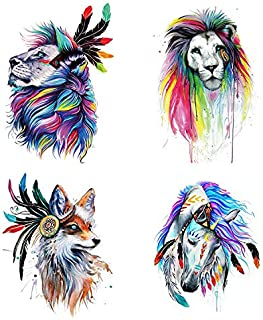 DIY 5D Diamond Painting Kits for Adults, Afzos Full Drill Diamond Painting Animals for Living Room Decoration (3040cm) (DA-2097)