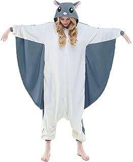 NEWCOSPLAY Adult Unisex Flying Squirrel Onesie Pajama Costume